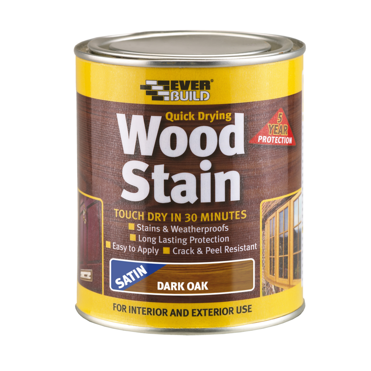 EVERBUILD® Wood Stain Satin
