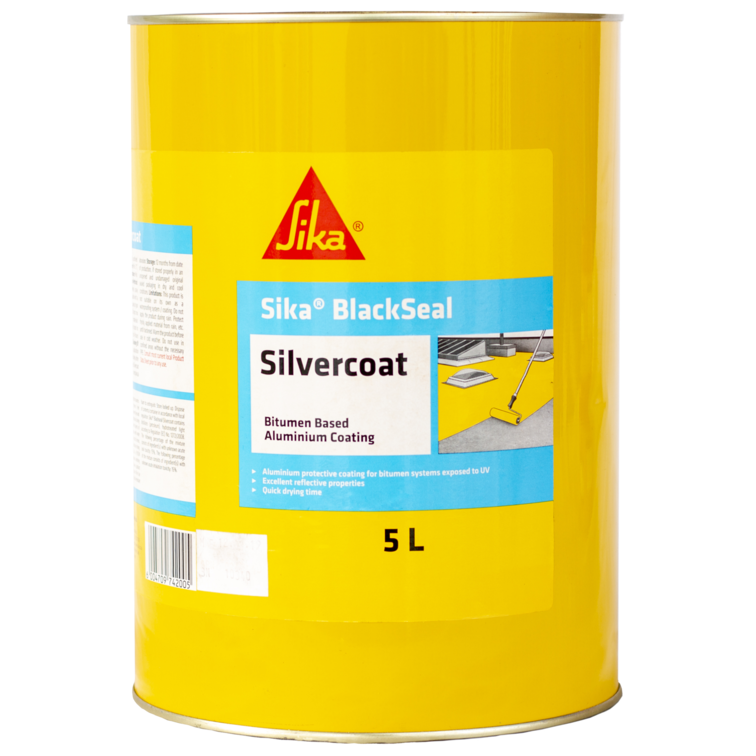 Sika BlackSeal® Silvercoat