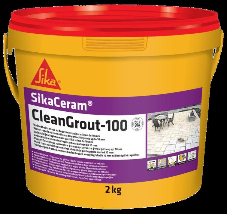 SikaCeram® CleanGrout-100