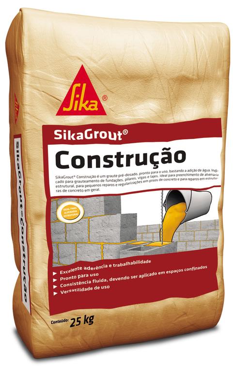 SikaGrout® Construção