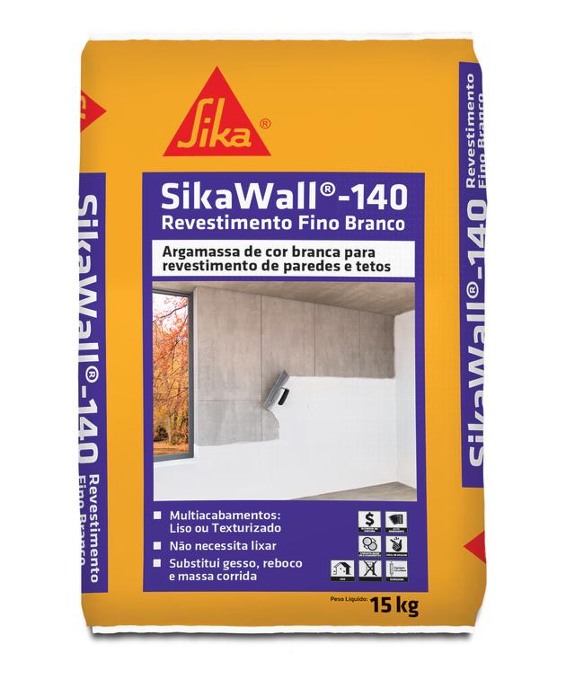 SikaWall®-140 Revestimento Fino Branco