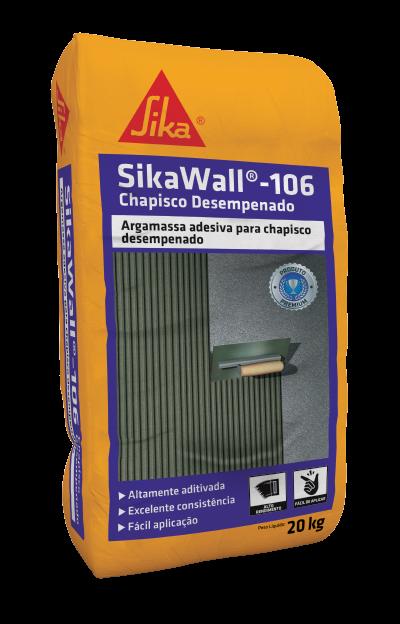SikaWall®-106 Chapisco Desempenado