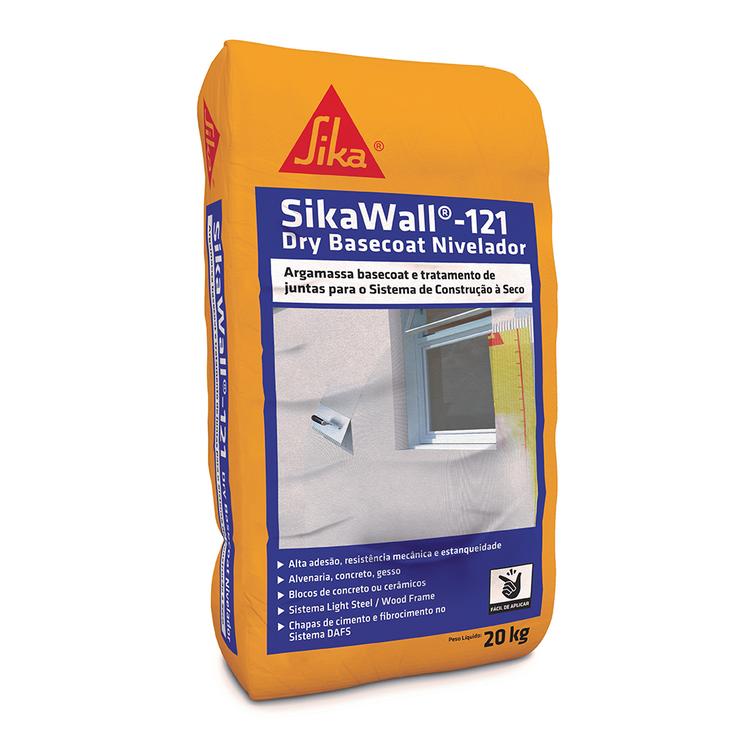 SikaWall®-121 Dry Basecoat Nivelador