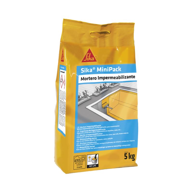 Sika® MiniPack Waterproofing Mortar