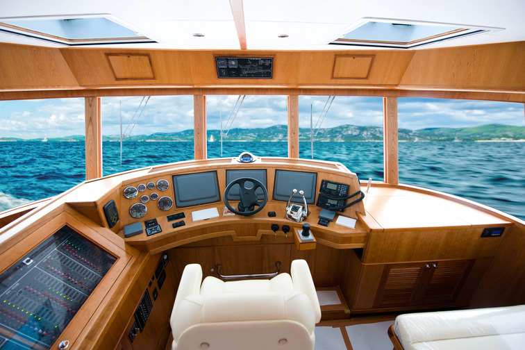 Interior sealing on a leisure boat