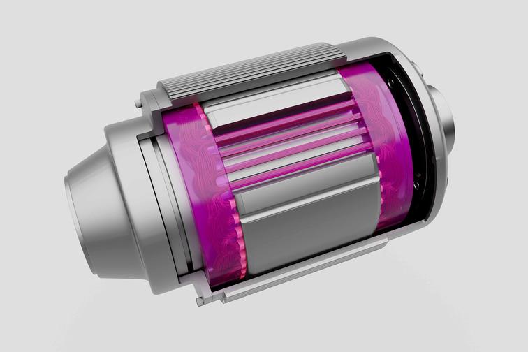 Illustration of an e-motor