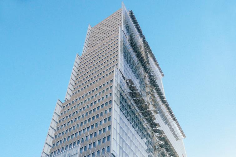 Skyscraper, building with windows