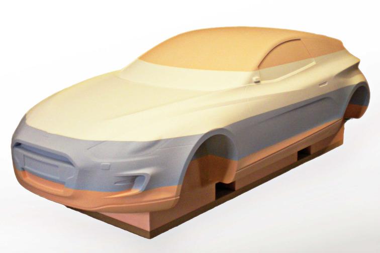 Block car model