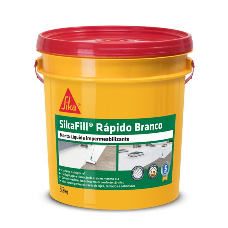 SikaFill® Rápido Branco - 3,6kg
