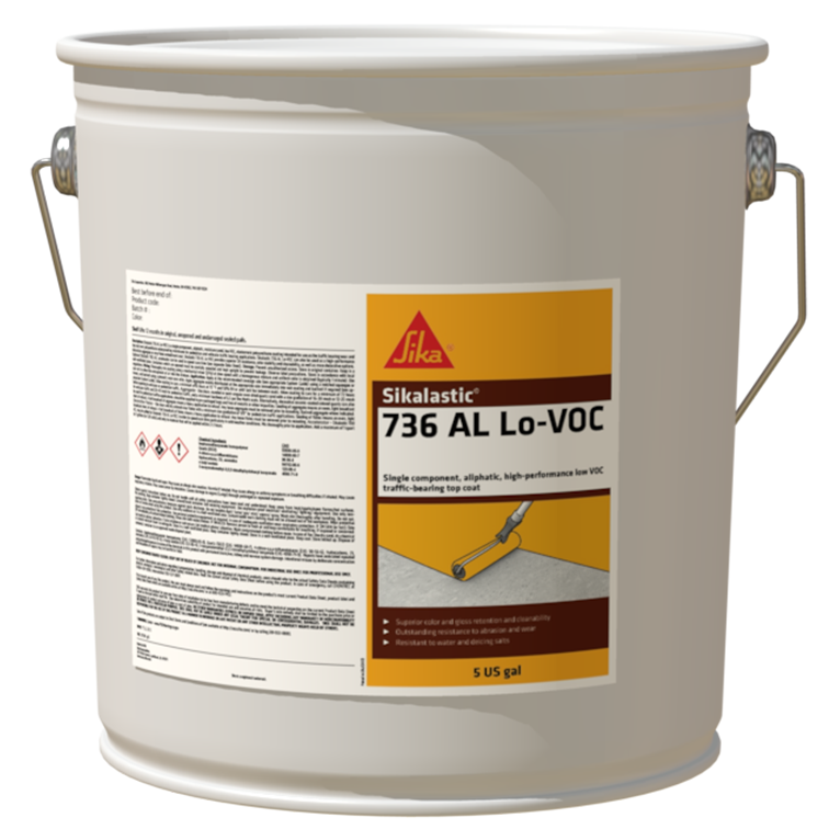Sikalastic®-736 AL Lo-VOC