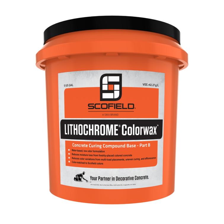 LITHOCHROME® Colorwax™ Concrete Curing Compound