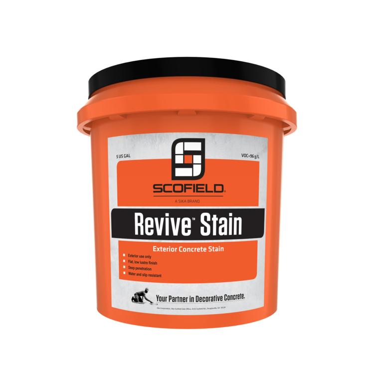 SCOFIELD® Revive™ Exterior Concrete Stain