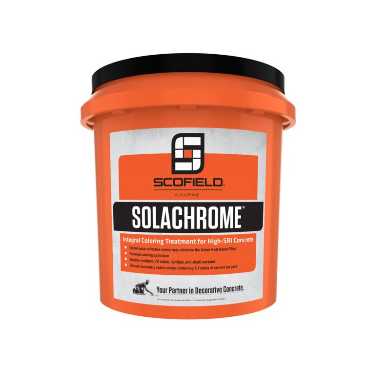 SOLACHROME™ Integral Coloring Treatment for High-SRI Concrete